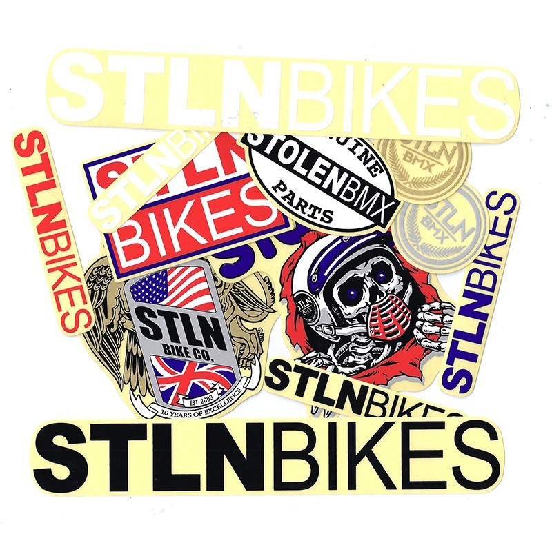 STOLEN assorted stickers pack