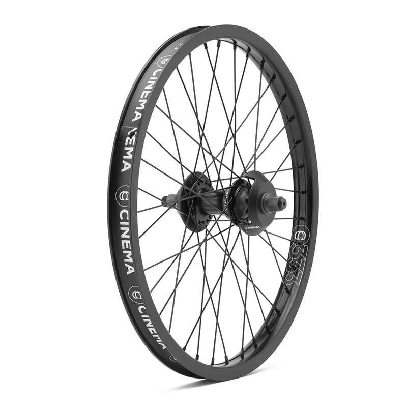 CINEMA ZX 333 Cassette wheel BLACK WITH GUARDS