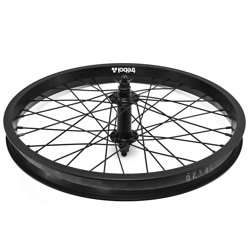 "TREBOL front wheel 18"" BLACK"