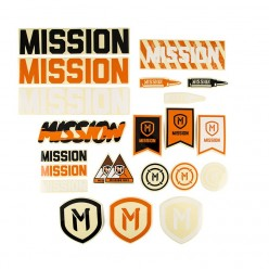 Pack of MISSION 2018 stickers