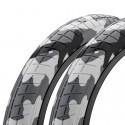 """Paire de pneus MISSION Tracker 20 x 2.40"""" ARTIC CAMO"""