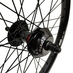STRANGER Crux V2 LT cassette wheel BLACK WITH GUARDS