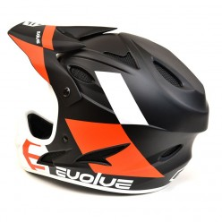 EVOLVE Storm full face helmet MATTE BLACK / ORANGE