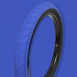 "STRANGER Ballast tire 20 x 2.45"" DARK BLUE / BLACK"