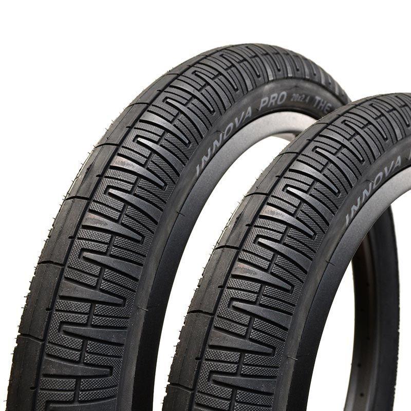 "Paire de pneus INNOVA PRO KEVLAR The Big Slick 20 x 2.40"" 649grs"