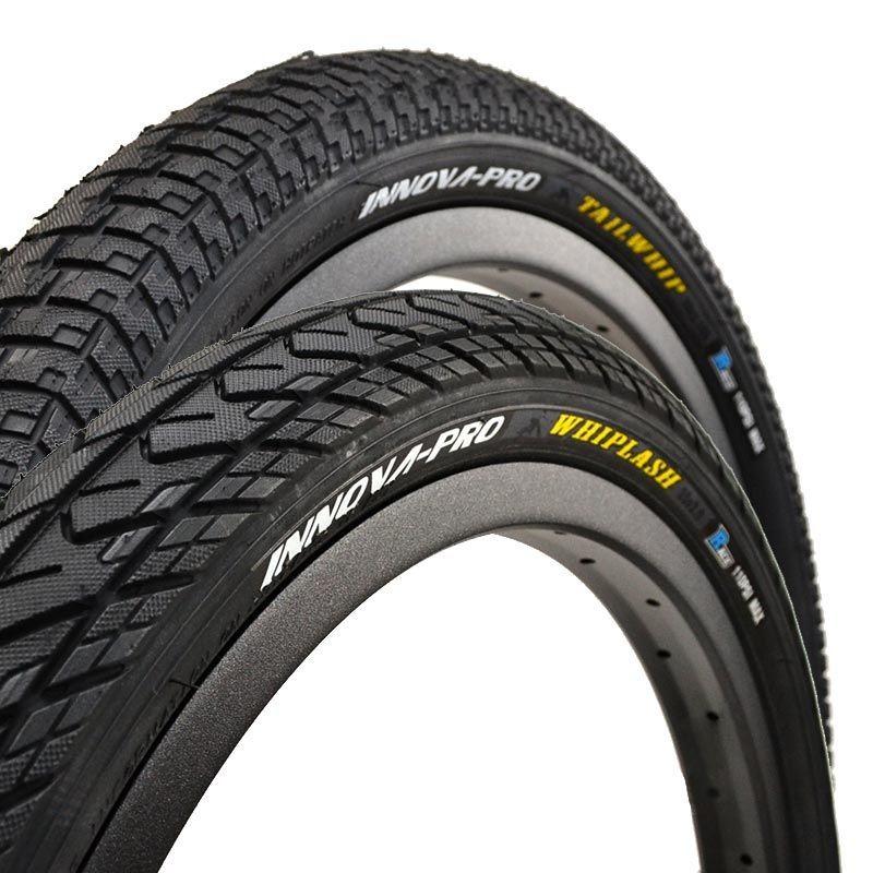 "Pair of INNOVA PRO Whiplash and Tailwhip tires 20"" KEVLAR"
