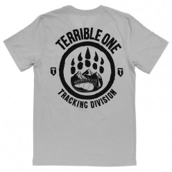 TERRIBLE ONE Tracking Division tshirt SILVER