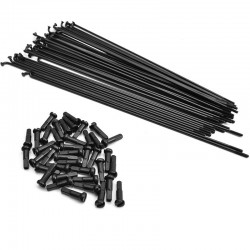 MISSION Stainless spokes BLACK x40