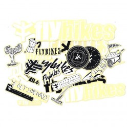 FLYBIKES 2019 stickers pack