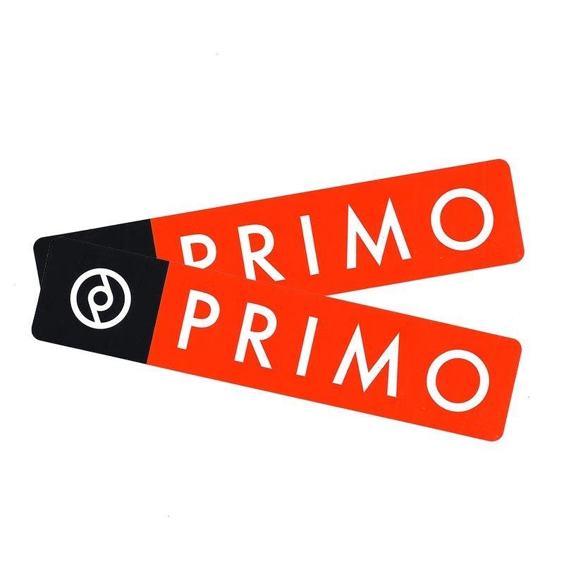 Paire d'autocollants PRIMO Box Logo